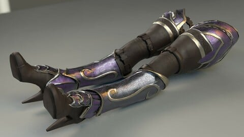 Woman Leg ARmor SEt
