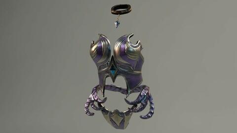 Elf Female Body Armor Set
