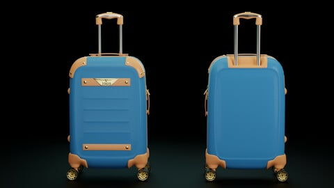 "Travel Suitcase ""V 1969"" with PBR"
