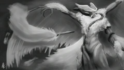Caduceus Angel
