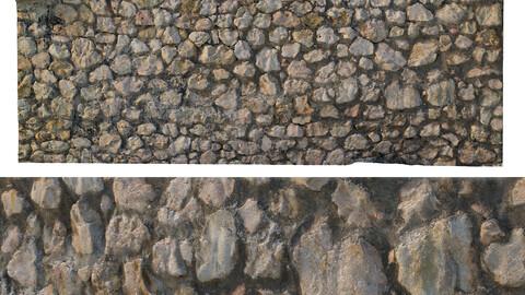 280 Stone wall