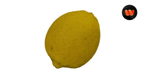 Lemon - Extreme Definition 3D Scanned Model