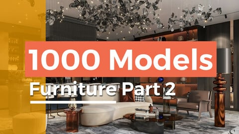 1000 models furniture part 2