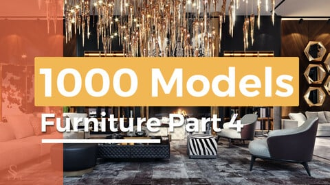 1000 models furniture part 4