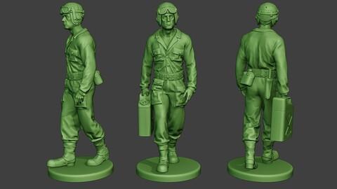American Tank Crew unit ww2 Walk ATC1