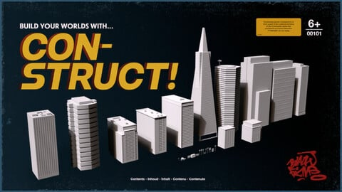 Con-Struct! - City Buildings Pack