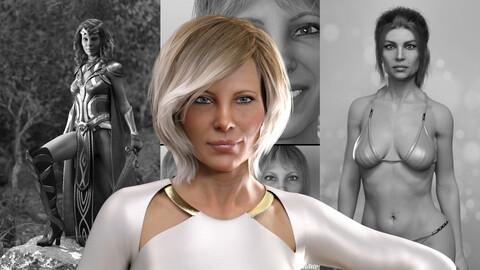 Alexandra character Bundle
