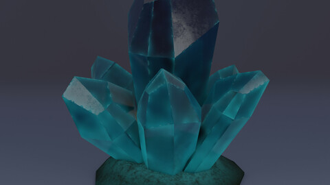 Stylized Glowing Crystal