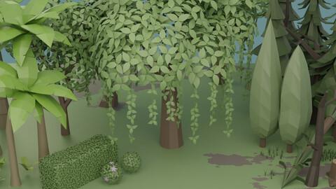 Vegetation pack