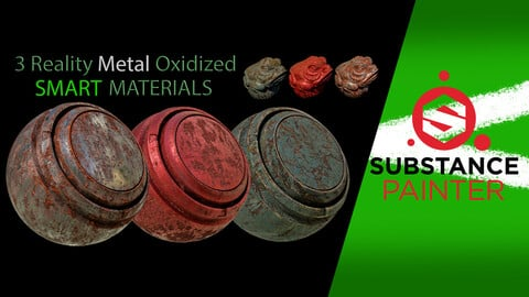 3 Reality Metal Oxidized SMART MATERIALS