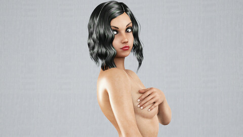 Woman rigged model