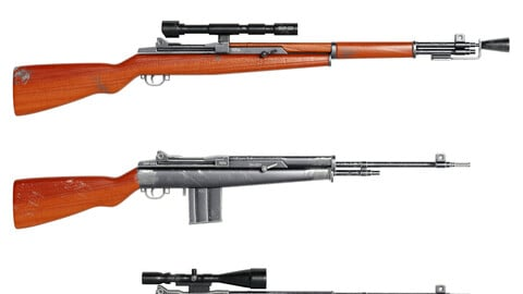 rifle wood gun
