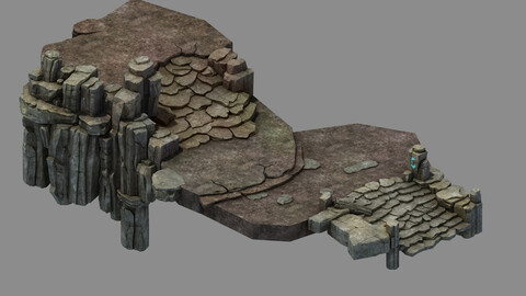 Fallen Land - Stone Road Aisle 01