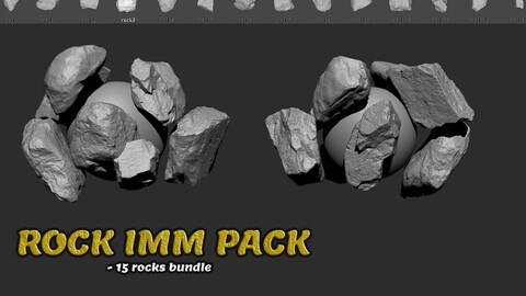 SCANNED ROCKS IMM PACK