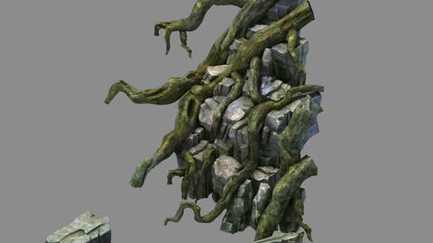 Fallen Land - Tree Roots 01