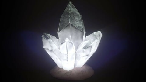 Stylized Bright Crystal