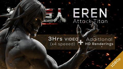 Eren Titan - Redesign SpeedSculpt in ZBrush