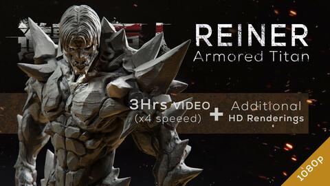 Reiner Armored Titan - Redesign Speedsculpt in ZBrush