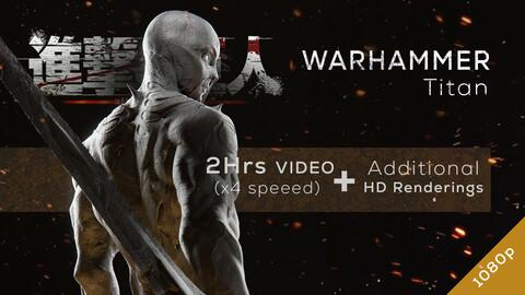 Warhammer Titan - Redesign Speedsculpt in ZBrush
