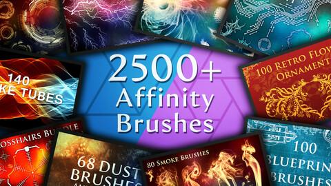 2500 Affinity Brushes