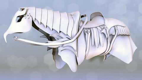 Ceremonial Horse Armor