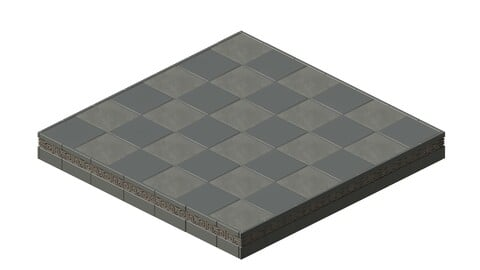 Square platform - base 16