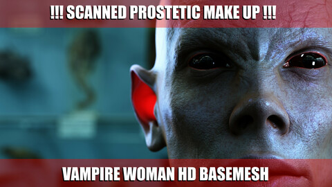 SCANNED VAMPIRE WOMAN HD