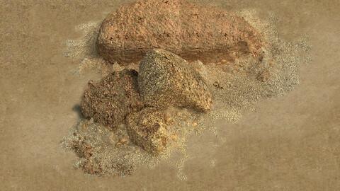 Barracks - Desert Stones - Gravel 01