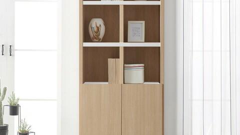 Study 800 5-layer bookcase 7color