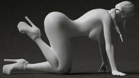 Nude woman 3d printable