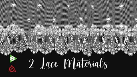 2 Procedural Lace Materials