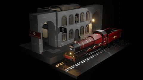 Hogwarts Express - Station