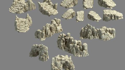 Kunlun Mountains - Rock 04