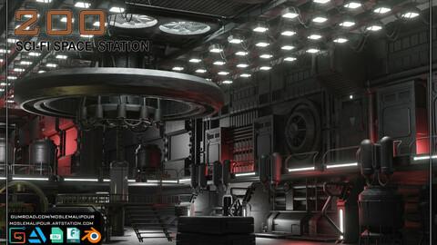 200 SCI-FI SPACE STATION KITBASH VOL 01