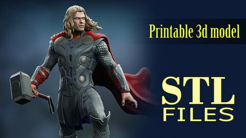 Thor stl - 3d printing