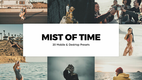 20 Mists of Time LUTs and Lightroom Presets