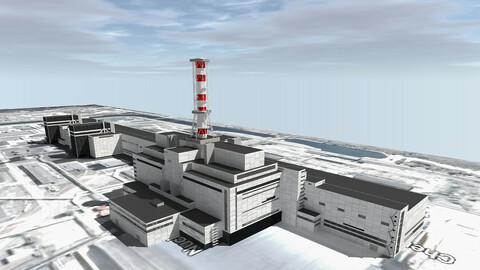 Chernobyl Nuclear Power Plant 3D model