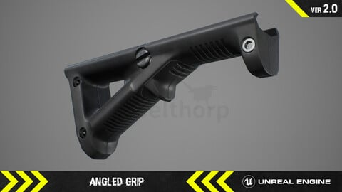 Angled Grip - FPS Weapon Attachment [ Unreal Engine ]
