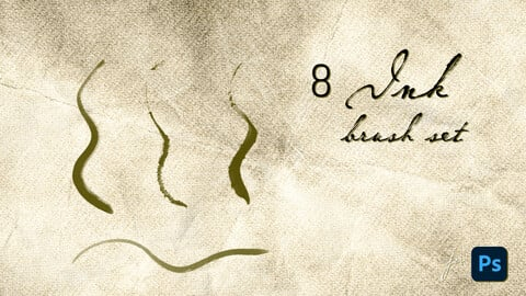 Little Ink Photoshop brush pack