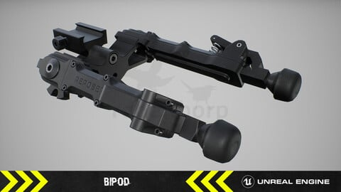 Bipod - FPS Weapon Attachment [ Unreal Engine ]