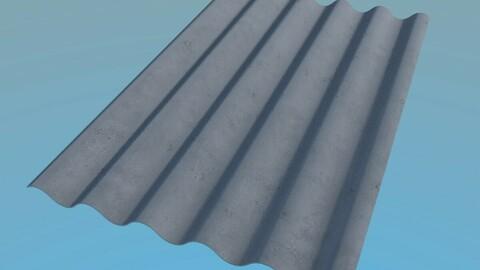 Slate Roof 1125x1750mm 6 Waves