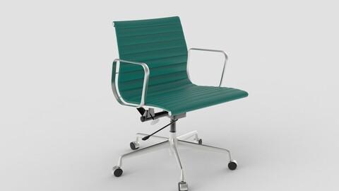 Vitra Aluminium Chair 117 Teal