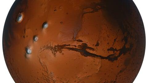 Mars 3D Globe 2