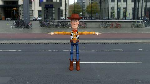 WUDY.007 Rigged Woody