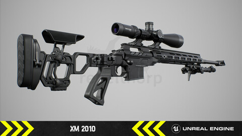 XM2010  - Animated FPS Weapon [ Unreal Engine ]