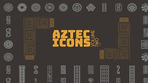 Aztec Vector Icon Set Volume 2