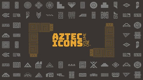 Aztec Vector Icon Set Volume 1