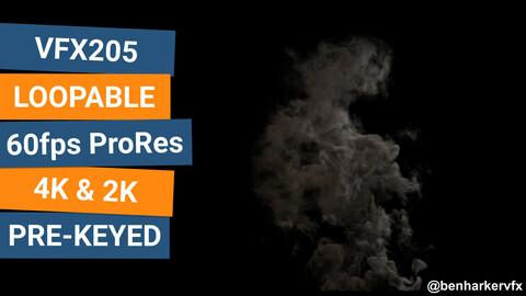 VFX205 - Loopable Smoke VFX Asset