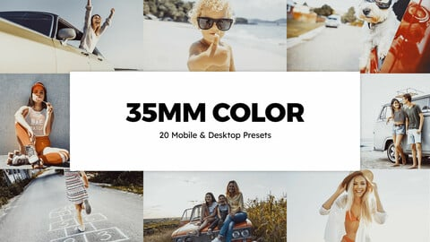 20 35mm Color LUTs and Lightroom Presets