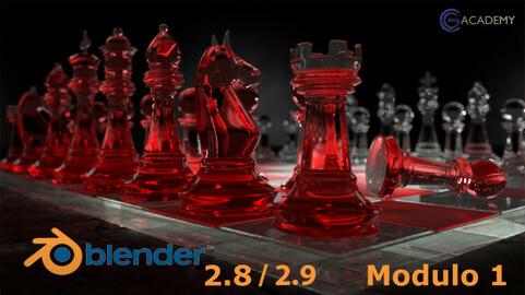 Blender 2.8x-2.9x per tutti - Modulo 1 (italiano)
